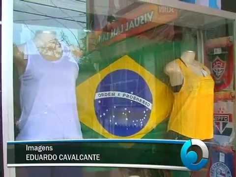 Comércio de Camaçari já está em clima de Copa
