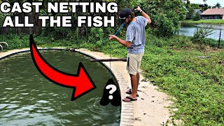 Video Netting EVERY Fish From Abandoned Pool!!! MP3, 3GP, MP4, WEBM, AVI, FLV Agustus 2019