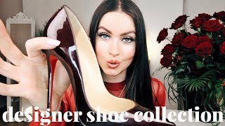 Video MY DESIGNER SHOE COLLECTION | CHRISTIAN LOUBOUTIN VALENTINO GUCCI & MORE | EMMA MILLER MP3, 3GP, MP4, WEBM, AVI, FLV Juni 2018