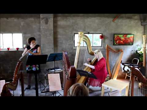 Flute and harp