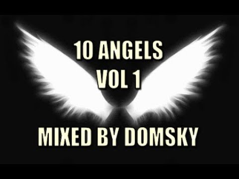 UPLIFTING VOCAL TRANCE   10 ANGELS VOL 1    MIXED BY DOMSKY