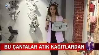 Geri Dönüşüm Malzemelerinden Çanta - Kanal D