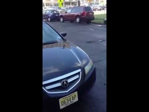 People flying over massive speed bump in Jersey city