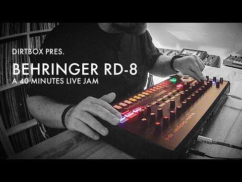 Behringer RD-8 / A 40 minutes Live Jam