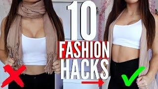 Video 10 FASHION HACKS EVERY Girl MUST KNOW !!! MP3, 3GP, MP4, WEBM, AVI, FLV Desember 2018
