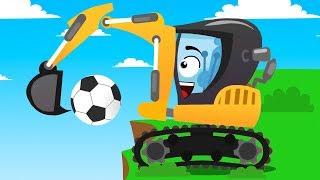 Video Coches infantiles - Carritos para niños - Excavadora y Amigos - Aventuras en la ciudad download in MP3, 3GP, MP4, WEBM, AVI, FLV January 2017
