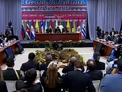 Reunión extraordinaria de presidentes de UNASUR