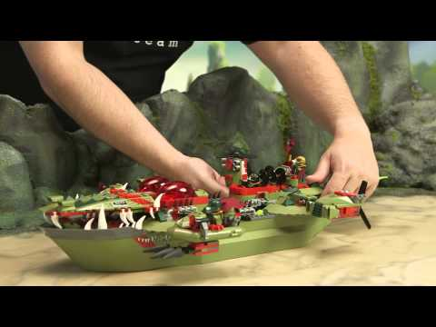 LEGO Legends of Chima &#8211; Cragger&#39;s Command Ship 70006