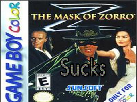 Le Masque De Zorro Game Boy