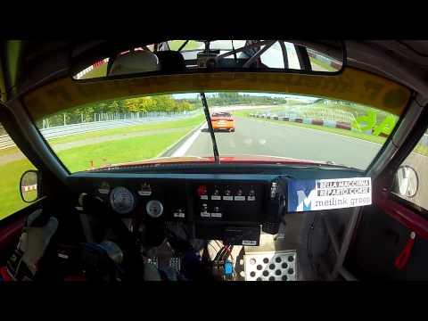 on board su un'alfa 75 al nurburgring (alfa challenge 2014)