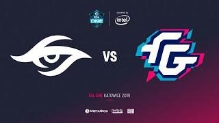 Team Secret vs Forward Gaming, ESL One Katowice 2019, bo2, game 1[Lex & 4ce]