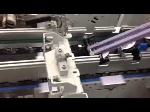 Bobst Fuego Inline Folding/Gluing and CD Inserting