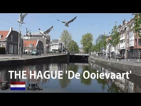 Holland: The Hague - Canal Tour 'de Ooievaart' [hd]