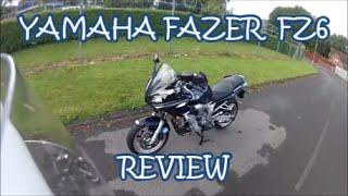 4. Yamaha FZ6 Fazer Review.