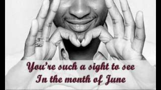 Love you gently - Usher [with lyrics on screen]