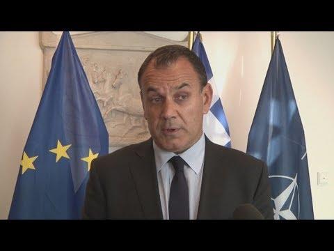 Δήλωση του υπουργού Εθνικής 'Αμυνας Νίκου Παναγιωτόπουλου