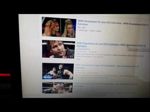 DEAR YOUTUBE PLEASE HELP WRESTLING REVIEWERS PROOF THAT VIDEOS ARE TAKING VIEWERSHIP AWAY!
