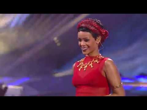 [HD 1080p] Rihanna ft A$AP Rocky & Calvin Harris - Cockiness & We Found Love Live at the VMAS