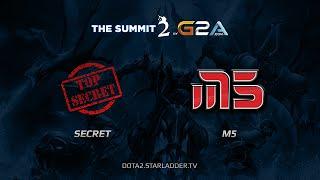 Secret vs M5, game 1