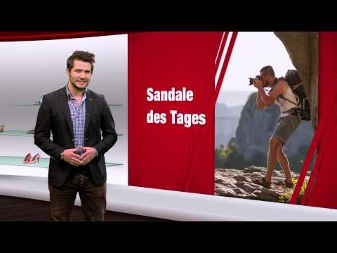 Herren Sandalen in Übergrößen. Große Herrenschuhe bei schuhplus. Schuh des Tages - 28.11.2014