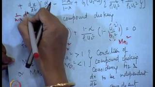 Mod-11 Lec-21 Separated Flow Model - Condition Of Choking (Contd.)