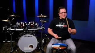 Learn All 40 Drum Rudiments: ▻http://www.Drumeo.com/40-rudiments/ The swiss army triplet is a unique one-way rudiment that ...
