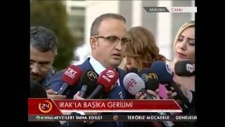 AK Parti Grup Başkanvekili Bülent Turan Başika krizini değerlendirdi
