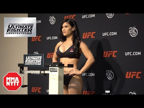 Rachael Ostovich TUF 27 Finale Weigh-In