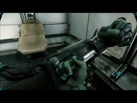 Star Citizen Alpha 2.4 - Life Of A Security Guard At Kareah Station