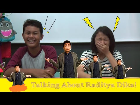 Indonesian Youngsters : What They Say About Raditya Dika!