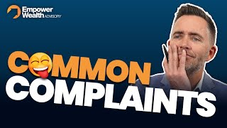 Common complaints from property investors