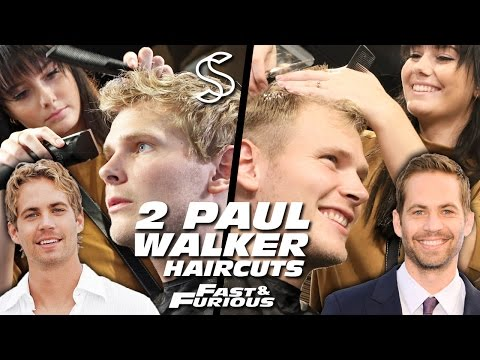 Paul Walker Hairstyle x 2 ★ Fast and Furious ★ Men's Hair