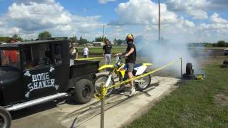 9. 2008 Suzuki RMZ 450 5th Gear Burnout