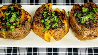 Australian Way Baked Potato. Ingredients: 1kg potatoes, 4 tbsp olive oil Ground Carri 1 tsp dried basil 1 tsp ground carri 1 tsp salt ...