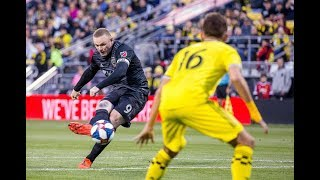 Rooney scores free kick on future Man City 'keeper by Major League Soccer