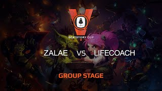 Lifecoach vs Zalae, game 1