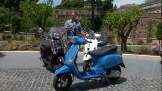 7. 2012 Vespa LX/S 125-150 3 valvole Reviewed in Rome by TOR