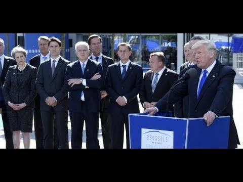 BRÜSSELER NATO-GIPFEL: Lob und Tadel von Trump