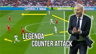 Video Real Madrid Zinedine Zidane - Legenda Counter Attack 2018 MP3, 3GP, MP4, WEBM, AVI, FLV Oktober 2018