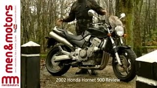 10. 2002 Honda Hornet 900 Review