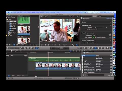 How to Merge / Combine Audio and Video Clips Using Final Cut Pro X – FCP X