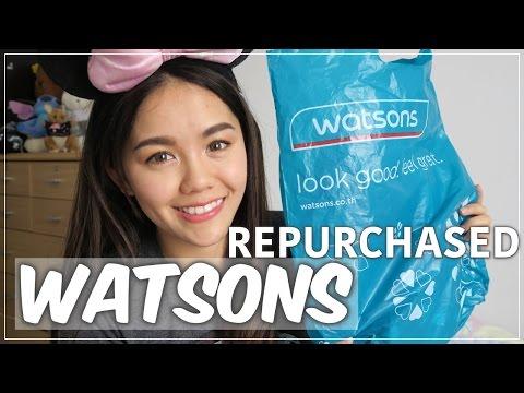 8 สิ่งต้องซื้อซ้ำใน WATSON | Wonderpeach (видео)