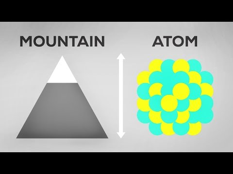 Atoms As Big As Mountains