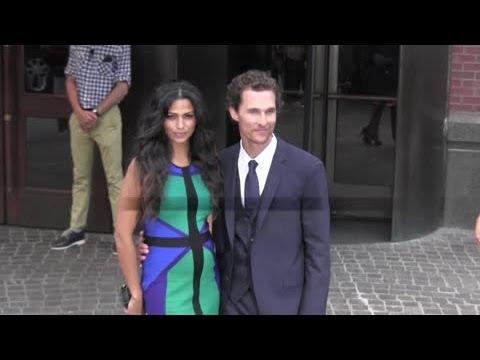 Matthew McConaughey and Camila Alves Welcome Their Third Child - Splash News