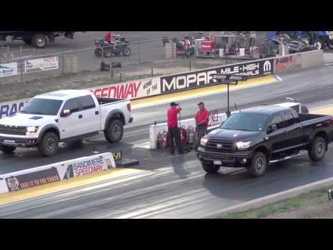 Ford Raptor SVT vs. Toyota Tundra TRD