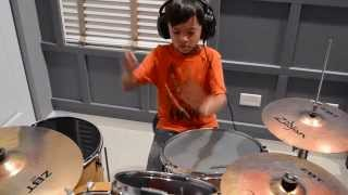 Video R. City ft.  Adam Levine - Locked Away (Drum Cover) MP3, 3GP, MP4, WEBM, AVI, FLV Januari 2019