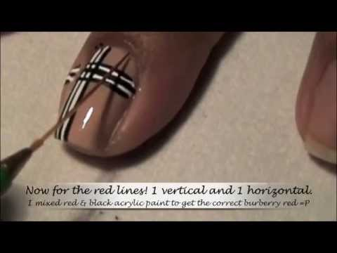 Burberry Nails