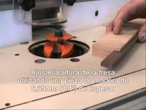 Fresas para madera videos videos relacionados con - Fresas para madera ...