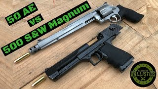 Video Desert Eagle 50 AE vs 500 S&W Magnum MP3, 3GP, MP4, WEBM, AVI, FLV Maret 2019