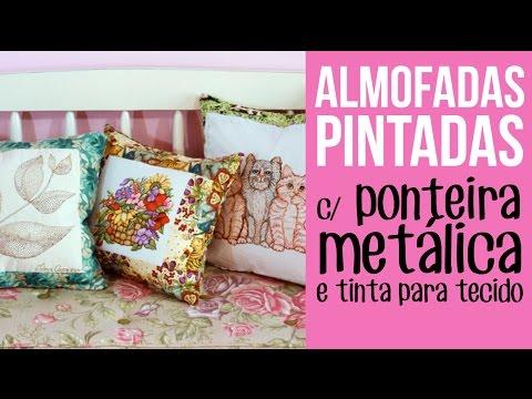 Almofadas Pintadas
